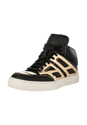 Alejandro Ingelmo Hightop Trainers Nero Oro Black