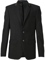 Givenchy Zip Collar Blazer Black