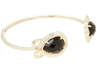 Kendra Scott Andy Bracelet Gold Black Opaque Glass Bracelet