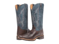 Old West Boots Bsm1861 Red Brown Blue Cowboy