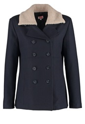 Armor Lux Short Coat Rich Navy Dark Blue