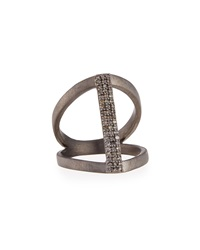 Siena Jewelry Vertical Diamond Bar Ring