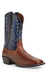 Ariat 'Sport Outfitter' Leather Cowboy Boot Men Brown