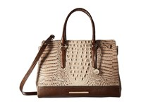 Brahmin Finley Carryall Barley Handbags Brown