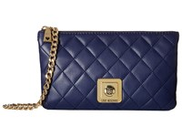 Love Moschino I Love Superquilted Evening Crossbody Bag Navy Cross Body Handbags