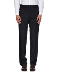 U Ni Ty Trousers Casual Trousers Men Dark Blue