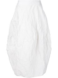 Simona Tagliaferri 'Cloud' Skirt White