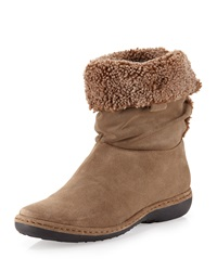 Coinage Roll Down Ankle Boot Neutral Stuart Weitzman