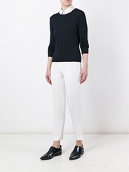 Pt01 Tailored Slim Pants White