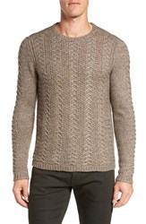John Varvatos Men's Star Usa Textured Knit Sweater
