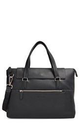 Men's Salvatore Ferragamo 'Manhattan' Soft Leather Briefcase