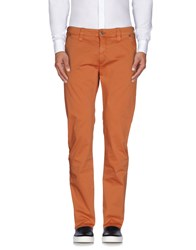 Heavy Project Trousers Casual Trousers Men Rust