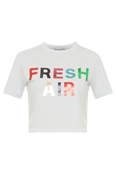 Etre Cecile Fresh Air Crop T Shirt
