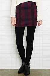 Cooperative Brushed Pull On Skirt In Tartan At Urban Outfitters