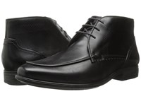Hush Puppies Tom Maddow Black Leather Men's Lace Up Cap Toe Shoes