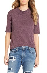 Leith Women's Knit Funnel Neck Tee