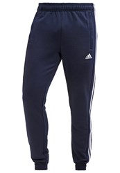 Adidas Performance Tracksuit Bottoms Collegiate Navy White Blue