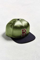 American Needle Babomb Boston Red Sox Baseball Hat Olive