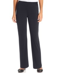 Ny Collection Petite Pull On Straight Leg Pants