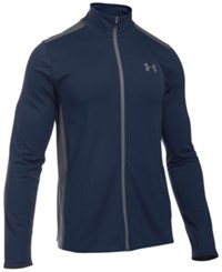Under Armour Men's Maverick Mock Neck Jacket Midnight