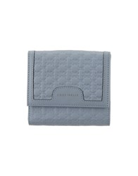 Coccinelle Wallets Sky Blue