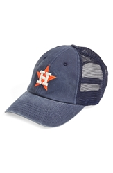 American Needle 'Houston Astros Raglan Bones' Mesh Trucker Cap Navy