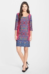 Felicity And Coco Print Jersey Shift Dress Petite Multi