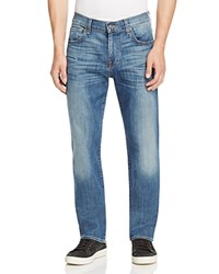 7 For All Mankind Carsen Straight Leg Jeans In Medium Wash Compare At 215