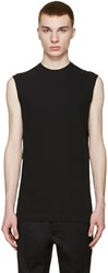 Dsquared Black Long Twisted T Shirt