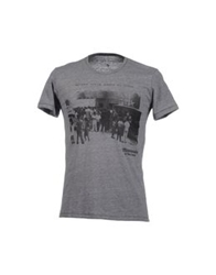 Misericordia Short Sleeve T Shirts Grey