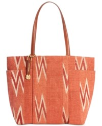 Lucky Brand Bryn Tote Red