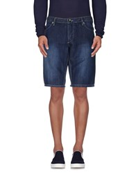 Guess By Marciano Denim Denim Bermudas Men Blue