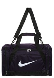 Nike Performance Brasilia Sports Bag Purple Dynasty Black