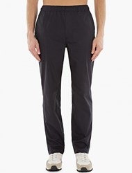 Our Legacy Navy Relaxed Cotton Trousers