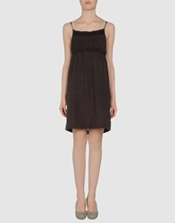 Juicy Couture Dresses Short Dresses Women Dark Brown