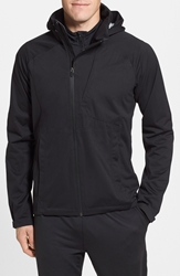 Nau 'Cranky' Packable Waterproof Jacket With Stowaway Hood Caviar
