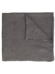 Denis Colomb 'Mustang' Solid Shawl Grey