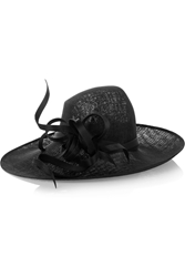 Philip Treacy Buntal Scroll Sinamay Hat