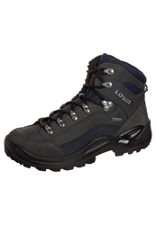 Lowa Renegade Gtx Mid Walking Boots Dark Grey Navy Dark Gray