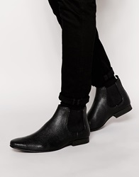 New Look Chelsea Boots In Faux Leather Black