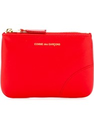 Comme Des Gara Ons Wallet Zipped Purse Yellow And Orange