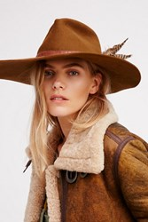 Free People Womens Fallon Felt Hat