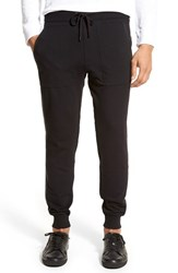 Men's Michael Kors Leather Trim Jogger Pants