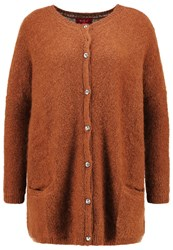 Derhy Realisation Cardigan Caramel Brown