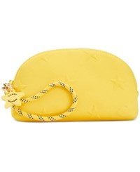 Tommy Hilfiger Stars Neoprene Cosmetics Case Yellow