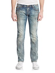 Cult Of Individuality Rocker Slim Straight Leg Jeans Blue