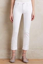 Anthropologie Ag Stevie Cuffed Jeans White 30 Pants