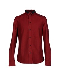 Eleven Paris Shirts Shirts Men Brick Red