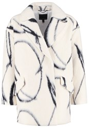 Banana Republic Xo Classic Coat Cocoon Off White