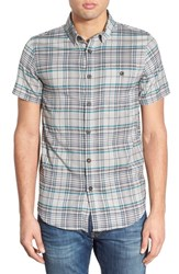Men's Element Regular Fit Plaid Woven Shirt
